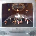 初代iMac フィギュアケース in ワンピース